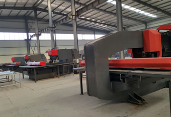 CNC Perforated Machine Workshop
